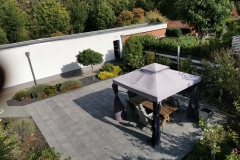 Garten Ansicht von oben